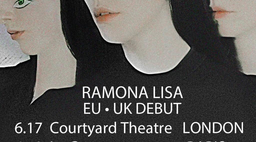 Ramona Lisa // EU tour dates this week